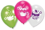 OUTLET: Globos Late x  9'' Cupcake