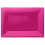 Fuente rosa fucsia-23cm x 32cm plástico