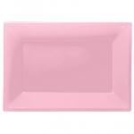 Fuente rosa claro-23cm x 32cm plástico