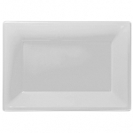 Fuente blanca-23cm x 32cm plástico