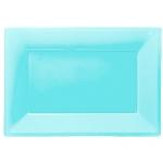Fuente azul claro-23cm x 32cm plástico