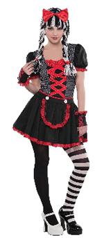 PRECIO OFERTA HALLOWEEN, DTO. NO ACUMULABLE. Gothic Doll Te S 10-12 Años