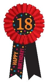 Condecoración 18th Birthday