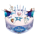Decoracion tarta Disney Frozen Cake Decorating Sets 9