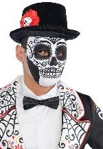 PRECIO OFERTA HALLOWEEN, DTO. NO ACUMULABLE. Máscara calavera de azúcar del Día de los Muertos