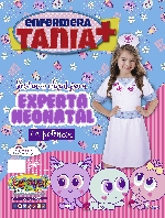 DISFRAZ DISTROLLER ENFERMERA TANIA 7-8 AÑOS