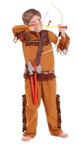 OUTLET - Kids Role Play Set Native American 3 - 6 Years