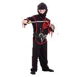 Set ninja-disfraz para niño