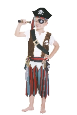 OUTLET - Kids Role Play Set Pirate 3 - 6 Years