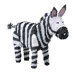 Piñata de Zebra - 50cm de Largo