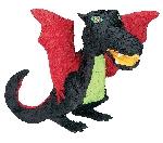 Piñata de Dragón Negro - 56cm de alto