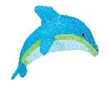 Piñata de Delfín - 56cm de Largo