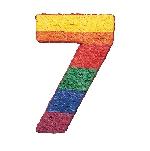 Piñata Número 7