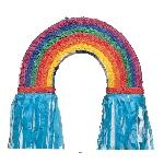 Piñata Arcoiris - 55cm de largo