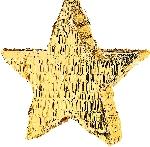 Piñata de Estrella Dorada - 45cm de largo