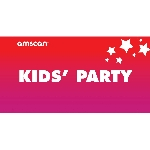 Terjetas Kids Party Point of Sale 2ft/61cm x 1ft/30cm