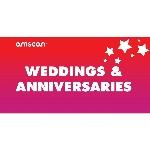 Terjetas Weddings & Anniversaries Point of Sale 2ft/61cm x 1ft/30cm