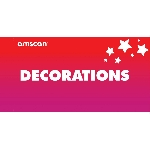 Terjetas Decorations Point of Sale 2ft/61cm x 1ft/30cm