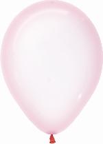 Globo Latex R12 Sempertex Cristal Pastel Rosado 30cm