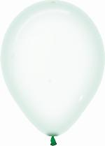 Globo Latex R12 Sempertex Cristal Pastel Verde 30cm