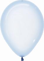 Globo Latex R12 Sempertex Cristal Pastel Azul 30cm