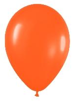 Globo Latex R12 Sempertex Standar Naranja 30cm En Bolsa De 50 Unidades