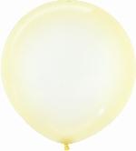 Globo Latex R24 Sempertex Cristal Pastel Amarillo / 60cm