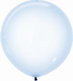 Globo Latex R24 Sempertex Cristal Pastel Azul / 60cm