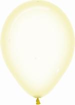 Globo Latex R5 Sempertex Cristal Pastel Amarillo 12.5cm