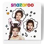 Mini kit Snazaroo de pintura para el rostro de conejitos