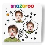 Mini kit Snazaroo de pintura para el rostro de hombre de nieve