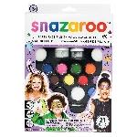 Kit para fiesta de pintura para el rostro Snazaroo - 50 rostros