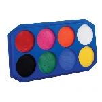 Paleta de pintura Snazaroo 8 colores de 18 ml - 350 rostros